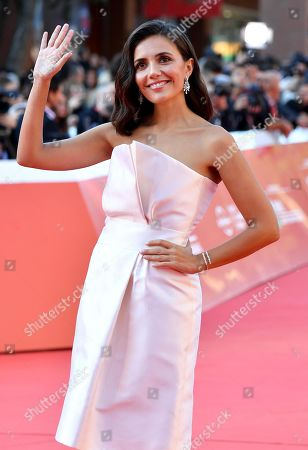 Serena Rossi arrives for the screening of 'Illuminate-Laura Biagiotti' at the 14th annual Rome Film Festival, in Rome, Italy, 19 October 2019. The film festival runs from 17 to 27 October 2019.