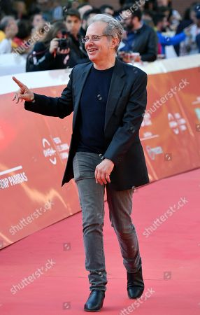 Australian director Richard Lowenstein arrives for the screening of 'Mystify: Michael Hutchence' at the 14th annual Rome Film Festival, in Rome, Italy, 19 October 2019. The film festival runs from 17 to 27 October 2019.