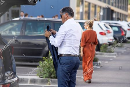 Toni Nadal, uncle of Spanish tennis player Rafael Nadal, waits for the bus which transfer guests to Pollenca, Mallorca, Balearic Islands, Spain, 19 October 2019, to attend Spanish tennis player Rafael Nada's wedding. Nadal will marry long-tim partner Maria Francisca Perello 'Xisca' on a private ceremony held at the Pollenca Bay in Mallorca.