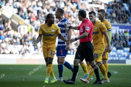 Editorial picture of Reading v Preston North End, EFL Sky Bet Championship - 19 Oct 2019