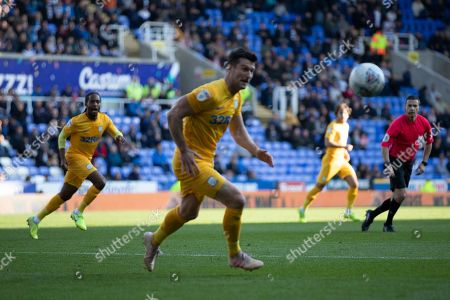 David Nugent (35) of Preston North End during the EFL Sky Bet Championship match between Reading and Preston North End at the Madejski Stadium, Reading