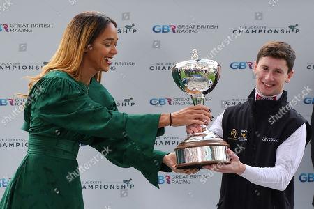Champion Jockey Presentation to Oisin Murphy at Ascot Copyright: Ian Headington/racingfotos.com