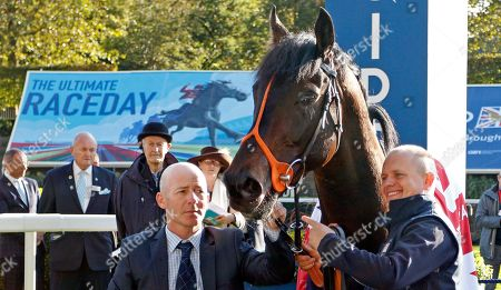 KING OF CHANGE after The Queen Elizabeth II Stakes Ascot