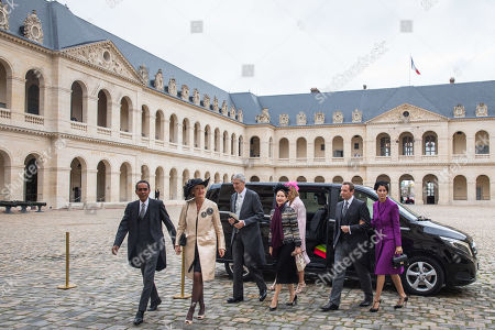 Editorial picture of Prince Napoleon's wedding ceremony in Paris, France - 19 Oct 2019
