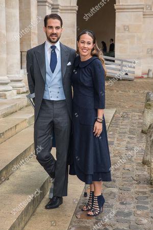 Editorial image of Prince Napoleon's wedding ceremony in Paris, France - 19 Oct 2019