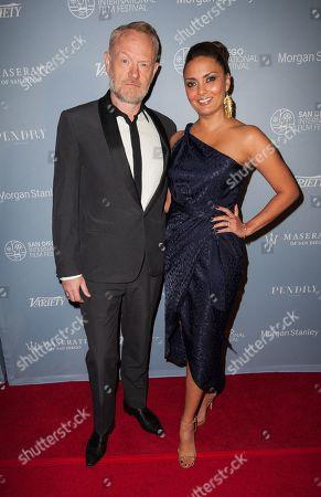 Stock Image of Jared Harris and Allegra Riggio
