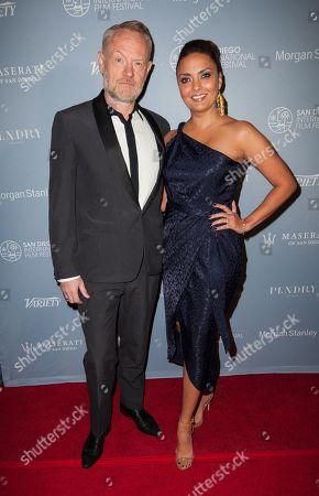 Stock Photo of Jared Harris and Allegra Riggio