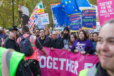 Editorial picture of People's Vote March, London, UK - 19 Oct 2019