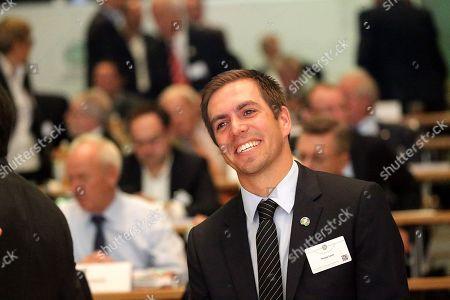 27.09.2019, Congress Center Messe Frankfurt , Frankfurt, DFB-Bundestag 2019, general assembly Philipp Lahm