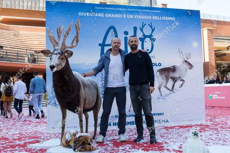 Guilaume Maidatchevsky and Fabio Volo
