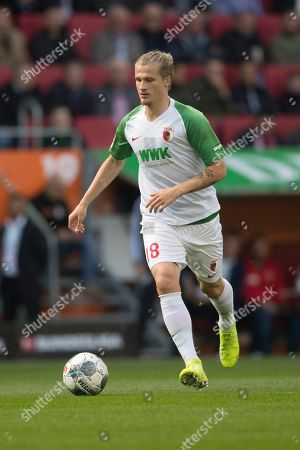 Stock Picture of Augsburg's Tin Jedvaj in action during the German Bundesliga soccer match between FC Augsburg and FC Bayern Munich in Augsburg, Germany, 19 October 2019.
