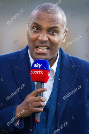 Stock Image of Sky Sports pundit Mark Bright before the Premier League match between Crystal Palace and Manchester City at Selhurst Park, London
