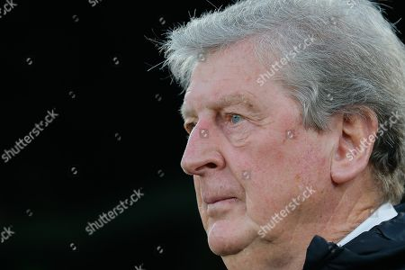 Crystal Palace manager Roy Hodgson during the Premier League match between Crystal Palace and Manchester City at Selhurst Park, London
