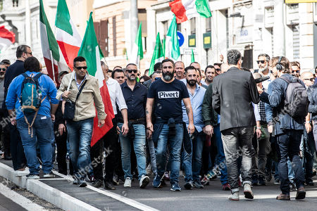 Editorial picture of Right Rally, Rome, Italy - 19 Oct 2019