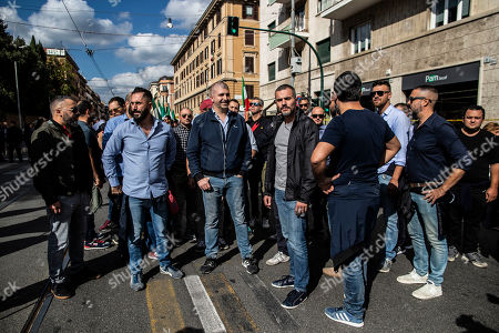 Editorial image of Right Rally, Rome, Italy - 19 Oct 2019