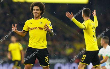 Editorial picture of Borussia Dortmund vs Borussia Moenchengladbach, Germany - 19 Oct 2019