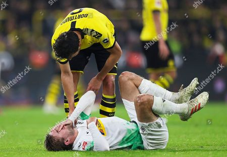 Editorial photo of Borussia Dortmund vs Borussia Moenchengladbach, Germany - 19 Oct 2019