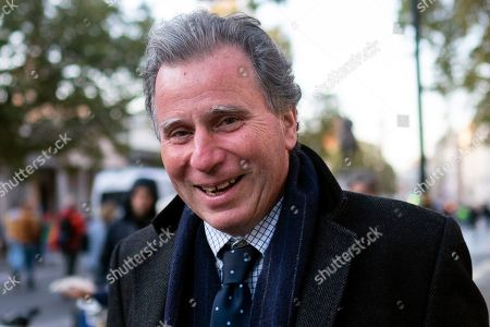 Conservative MP Oliver Letwin in Whitehall, Central London, Britain, 19 October 2019. The MP's voted to delay the approval of a Brexit deal as hundreds of thousands of people are taking part in the protest march calling for a referendum on the final Brexit deal on 'Super Saturday'.