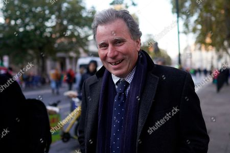 Stock Picture of Conservative MP Oliver Letwin in Whitehall, Central London, Britain, 19 October 2019. The MP's voted to delay the approval of a Brexit deal as hundreds of thousands of people are taking part in the protest march calling for a referendum on the final Brexit deal on 'Super Saturday'.