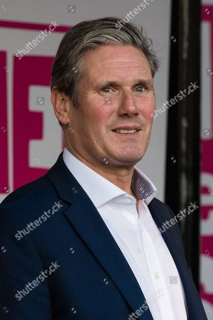 Shadow Brexit Secretary Keir Starmer attends a rally in Parliament Square as hundreds of thousands of people take part in the anti Brexit 'Together for the Final Say' march through central London to demand a public vote on the outcome of Brexit.