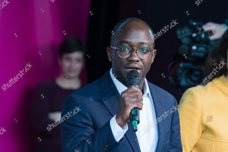 Liberal Democrat MP Sam Gyimah speaks during a rally in Parliament Square as hundreds of thousands of people take part in the anti Brexit 'Together for the Final Say' march through central London to demand a public vote on the outcome of Brexit.