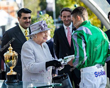 Editorial picture of QIPCO British Champions Day, Horse Racing, Ascot Racecourse, Berkshire, UK - 19 Oct 2019