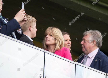 Rachel Johnson watches the first race at the QIPCO Champions day.