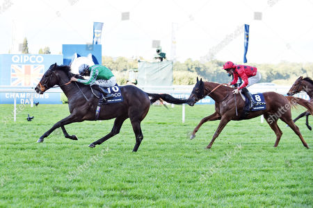 Stock Image of , Ascot, King of Change with Sean Levey up wins the Queen Elizabeth II Stakes at Ascot racecourse, GB.