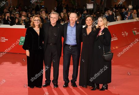 Nicoletta Mantovani, Nigel Sinclair, Ron Howard, Caterina Lo Sasso and Giuliana Pavarotti