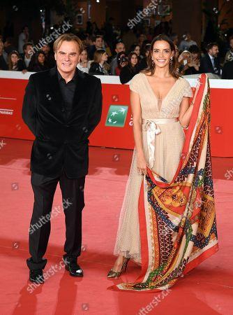 Stock Photo of Rossana Redondo and Andrea Griminelli