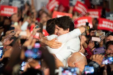 Editorial image of Halton Rally, Canadian Election Campaigning, Milton, Canada - 19 Oct 2019