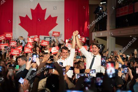 Adam van Koeverden and Justin Trudeau