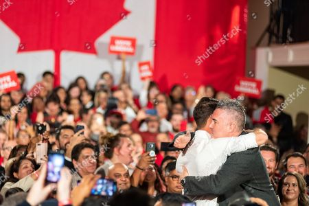 Editorial picture of Halton Rally, Canadian Election Campaigning, Milton, Canada - 19 Oct 2019