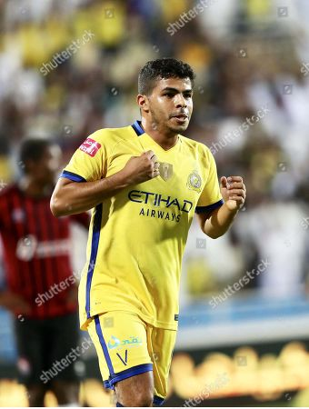 Editorial image of Al-Raed FC vs Al-Nassr FC, Buraydah, Saudi Arabia - 19 Oct 2019
