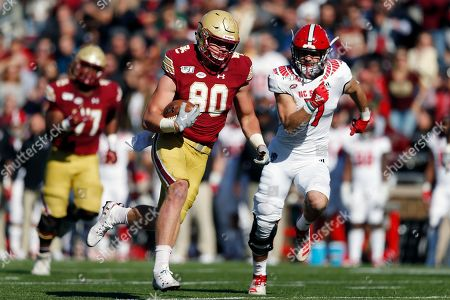 Editorial photo of NC State College Football, Boston, USA - 19 Oct 2019