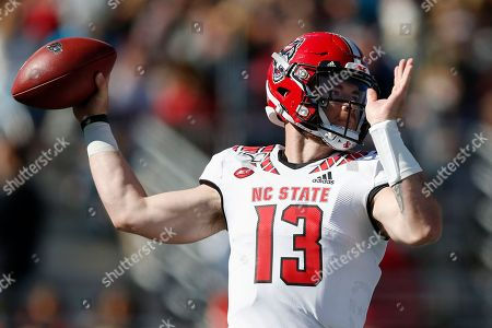 Editorial picture of NC State College Football, Boston, USA - 19 Oct 2019