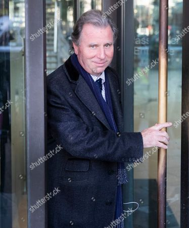 Stock Photo of Sir Oliver Letwin leaves Parliament after MPs voted for a Brexit deal delay. The Prime Minister's new Brexit deal was debated and voted on in a historic Saturday sitting in The House of commons