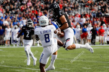 Editorial picture of Tulsa Football, Cincinnati, USA - 19 Oct 2019