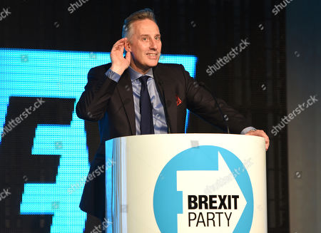 Editorial picture of Brexit Party Rally, Queen Elizabeth II Centre, London, UK - 18 Oct 2019