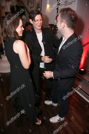 Claire Foy, Matt Smith and Duncan Macmillan, author
