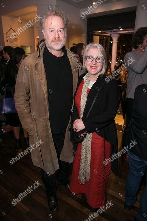 Owen Teale and Sylvestra Le Touzel