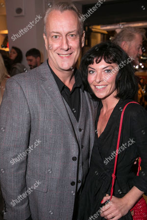 Stephen Tompkinson and Jessica Johnson