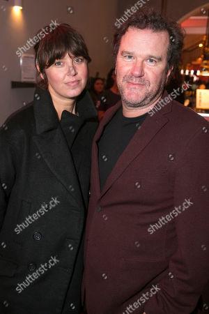 Amanda Hodge and Douglas Hodge
