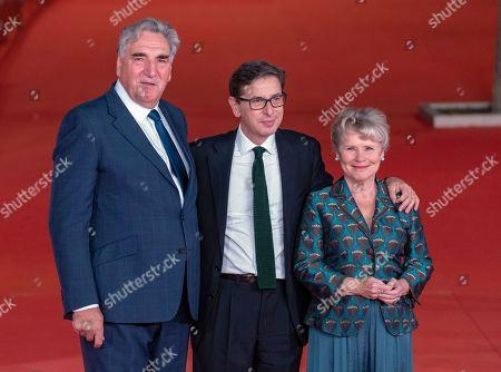 Jim Carter, Antonio Monda and Imelda Staunton