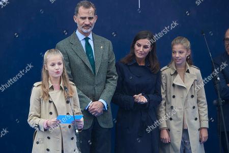 Editorial photo of Princess of Asturias Awards, Oviedo, Spain - 19 Oct 2019