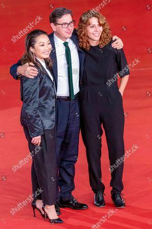 Lulu Wang, Antonio Monda and Anna Franquesa Solano