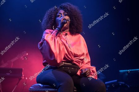 Editorial photo of Angie Stone in concert at Indigo at the O2, London, UK - 19 Oct 2019