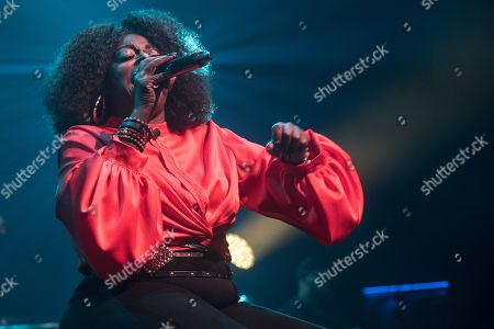 Editorial image of Angie Stone in concert at Indigo at the O2, London, UK - 19 Oct 2019