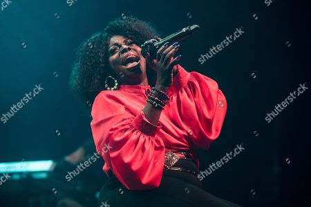 Editorial picture of Angie Stone in concert at Indigo at the O2, London, UK - 19 Oct 2019
