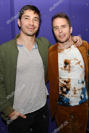 Justin Long and Sam Rockwell